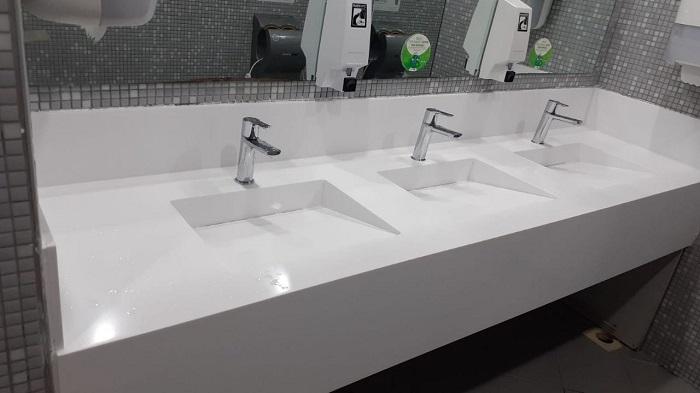 Kocaeli Corian Banyo Tezgahı